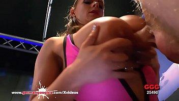 Anal Pounding For Busty MILF Sexy Susi - German Goo Girls