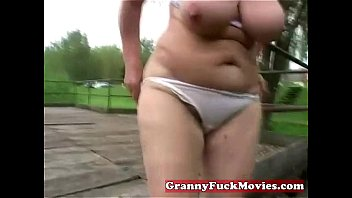 Mature dirty grannies - Dirty granny toy fucking her old hairy slit