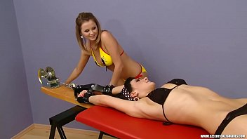 Ticklish Katherine tied to Rack (czechticklishgirls.com)