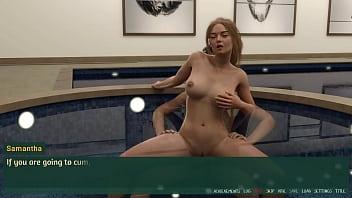 Hot Blonde Cheerleader Girl fuck in Jaguzzi l Pleasure Thieves Game