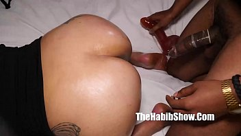 phat booty ass mixed couple pussy banged husbaned watches