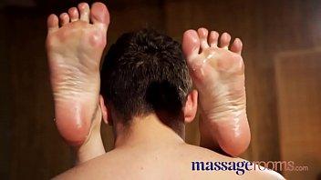 Massage Rooms Tattooed British slut Kylie Nymphette drains big cock dry