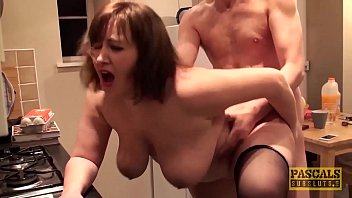 Uk hot mature - Hardfucked plumper fed with doms big cock and hot cum