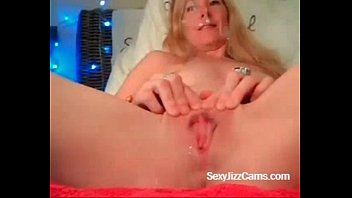 Blonde Girl Plays With Pussy on Cam - SuperJizzCams.com