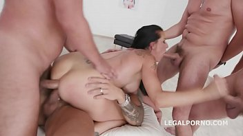Texas Patti 4on1 Total Balls Deep Anal, DAP and Triple Penetration