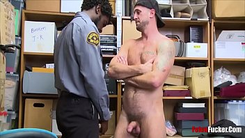 Straight me forced gay sex - Straight guy forced by black cop