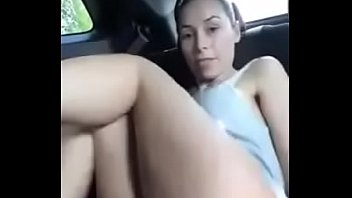 Girl on can showing body parts and masturbates