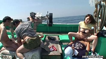 Sterling silver fishing boat asian Asian sluts getting fucked on a fishing boat