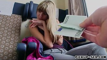 Cute teen Gina Gerson screwed for money
