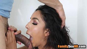 Teen niece fucks her uncle next to sleeping dad thumbnail