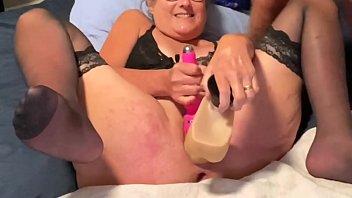 Mature Milf Stepmom Fucks 12 Inch Dildo And Has Three Squirting Orgasms Facial Cumshot Senior Gilf Granny