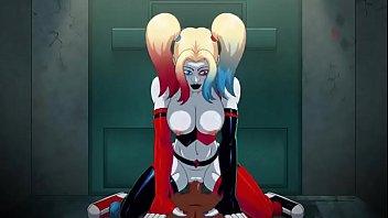 Harley Quinn Arkham ASSylum (black male).MP4
