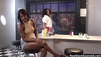 RealBlackExposed – Two ebony hotties lick each other to climax.