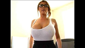Big Boobs Asian Chick Saves her Job With A blowjob and Tit job Thumb