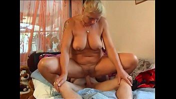 Hot Milf fucks young Boy