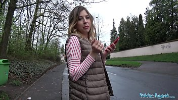 Public Agent Russian Hotty Loves Daylight Outdoor Sex