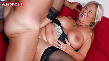 LETSDOEIT - Hot Mature German Wife Bangs Her Husband's Best Friend