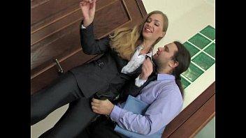 Russian Beauty Secretary Meeting Break Anal Thumb