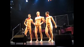 Stage naked male on 10 Male