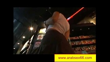 Moroccan Girl in leather outfit is having fun with her arabian boyfriend, who is صورة