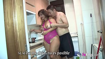 Montse gets it on with the inexperienced son of her partner