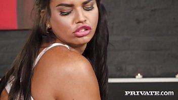 Private.com - Curvy Chloe Lamour Milks Cock On Her Big Body!