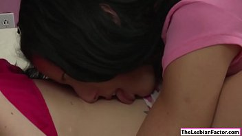 Milf licks her lesbian college babe