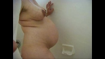 Amateur Wife Sara Pregnant Shower