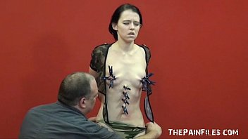 Adult file share Teen painslut punished and whipped in the dungeon by her stern english master