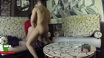 Pamela & Jesus and two friend of them fucking in the suite. SAN226
