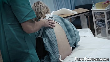 Tattooed teenage babe gets filled with jizz