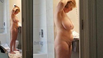 Nude curvy bodies Sexy grandma has a killer body