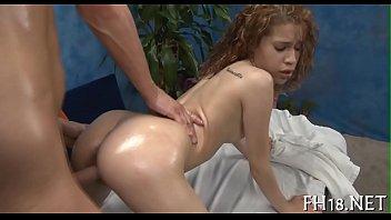 Erotic vedio clip - Sexual massage clip scene