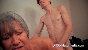 GILF step mom fucks step son
