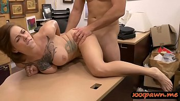 Woman nasty sucking cock - Big boobs woman nailed by nasty pawn guy