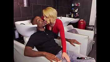 Mature Hairdresser Krissy Lynn Craves Black Cocks