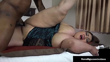 Lovely Large Lady Ling Ling Gets Dick Drilled By Big Cock Rome Major!