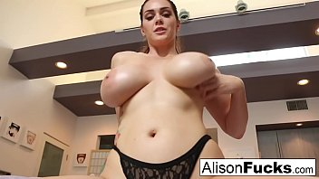 Allison krause lesbian Busty alison tyler helps the viewer cum