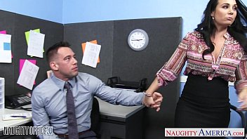 Adult naughty photos Chesty brunette holly west ride cock in the office