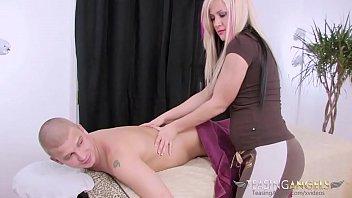 Irresistible blonde floozy has her orgasmic twat rammed with a big rod