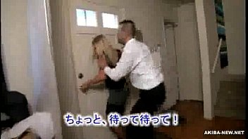 Beautiful Mature Blonde Wife forced by Japanese man 1