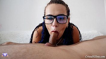 Wife Sucking Blowjob Big Cock Closeup صورة