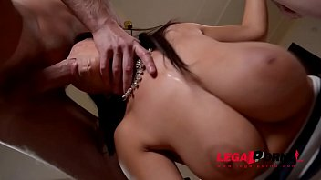 Big penis cream - Top-heavy double dick addict susana alcala dped until she screams creams gp574