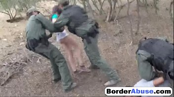 South of the border dvd adult Pale cutie with perky boobs gets handcuffed and fucked by border patrol agent