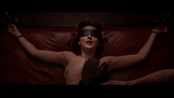 Dakota Johnson - Nude and Flogged in Fifty Shades of Grey - (uploaded by celebeclipse.com)