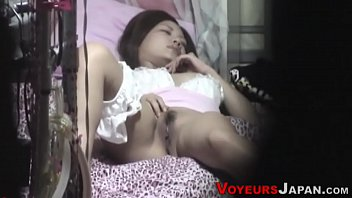 Tight asian teen masturbates Spied on asian hottie rub