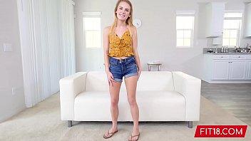 FIT18 - Natalie Knight - 43kg - Casting Tiny 5 Feet Former Cheerleader