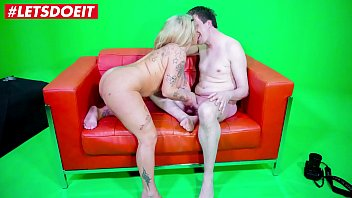 LETSDOEIT - Petite Chubby German Wife Calls Her Lover For a Quick Fuck