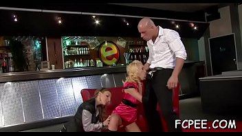 Party foursome sex during the time that dressed