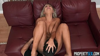 PropertySex Attractive Blonde Real Estate Agent Bangs Her Boss